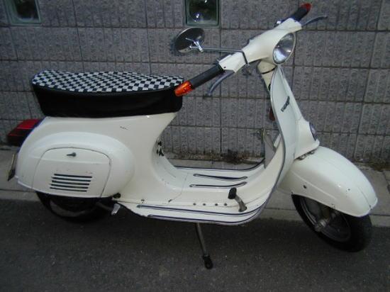 Vespa 50S改100を、ヤフオクへ出品