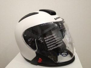 シューベルトのヘルメットJ1との相性問題