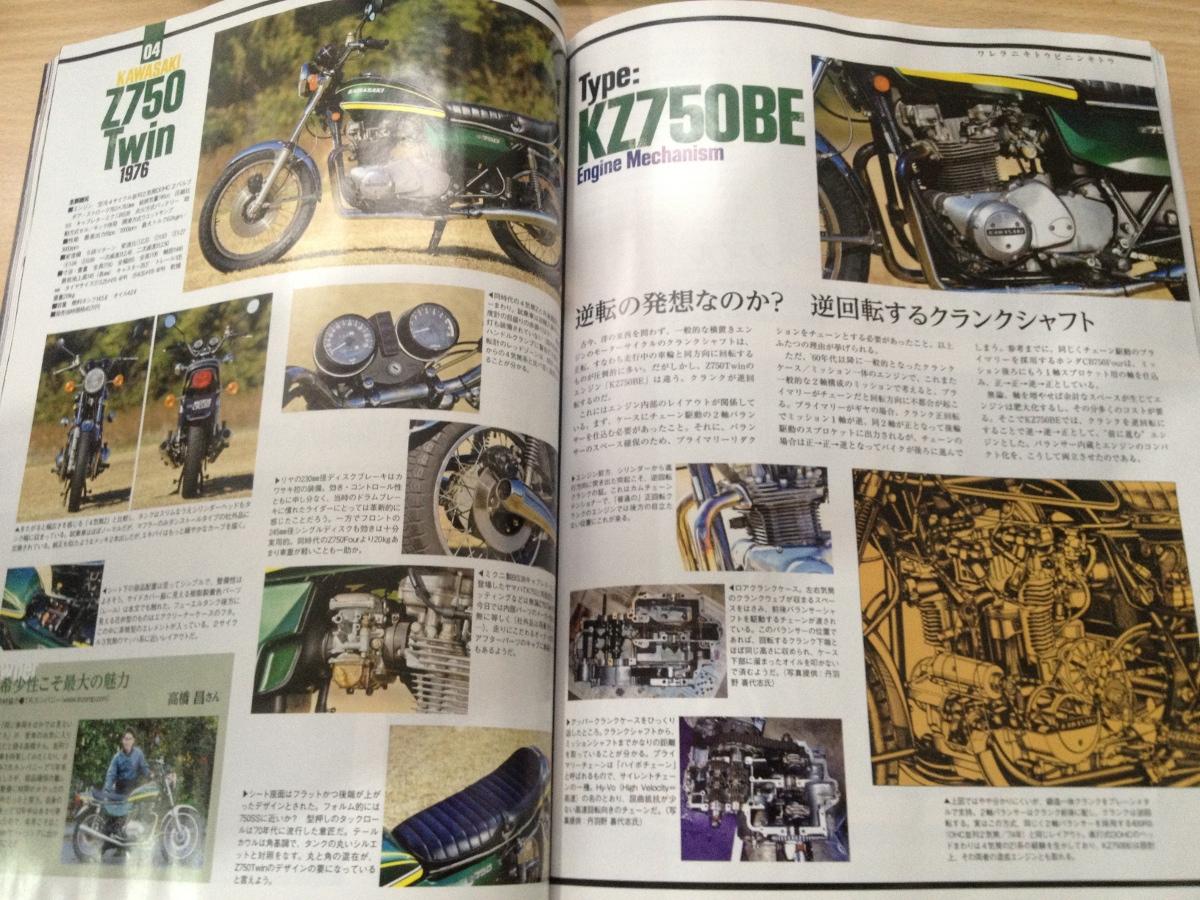 Z750TWINが別冊モーターサイクリスト409号に掲載